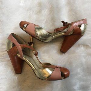 Seychelles color block heels